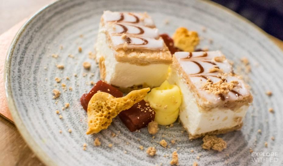 An inspired Jelly and Custard dessert