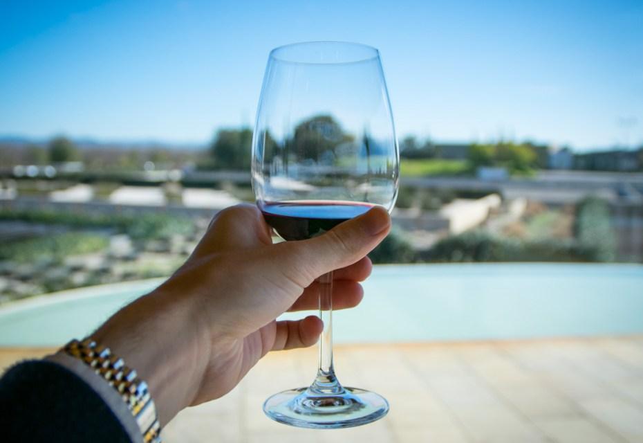 Torres Winery near Barcelona