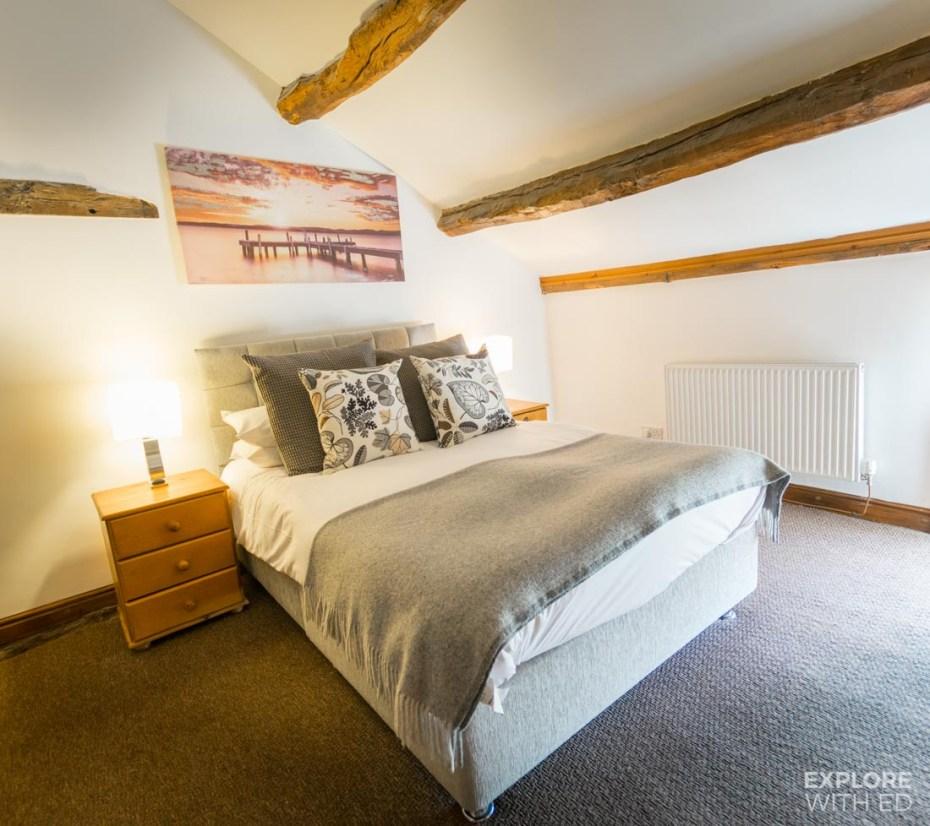 Cosy double bedroom in Ty Morgans Rhayader