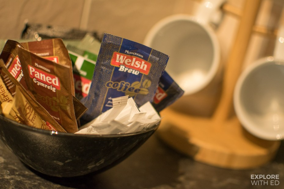 Murroughs Welsh Brew Coffee and Tea sachets