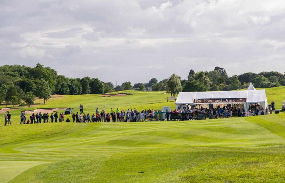 Celebrity Cup Food and Drink Marquee, Hole 9