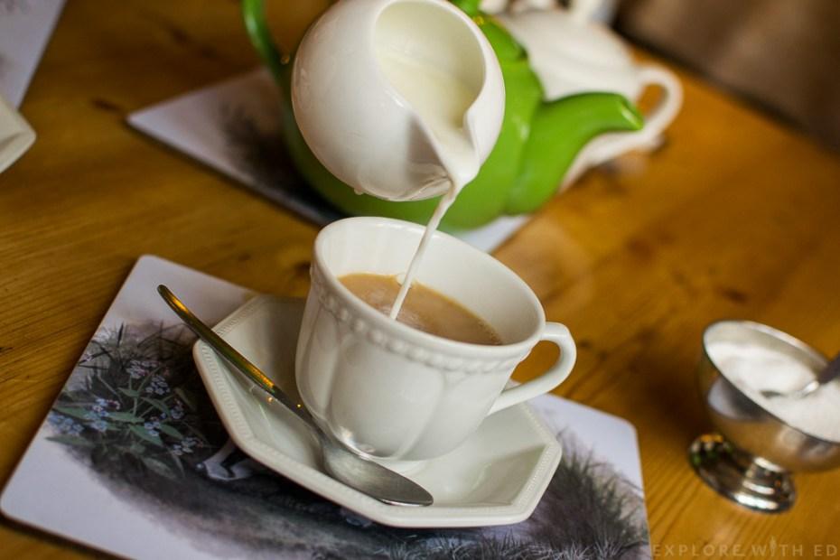 Badgers Hall Tearooms Cotswolds Cream Tea
