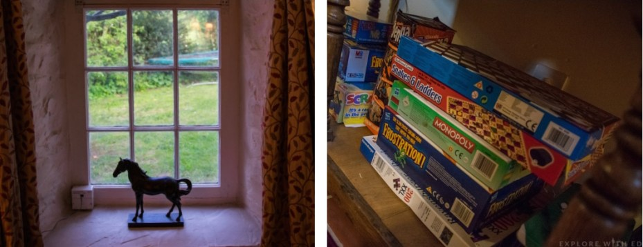 Luxury cottage in Wales, family friendly, board games