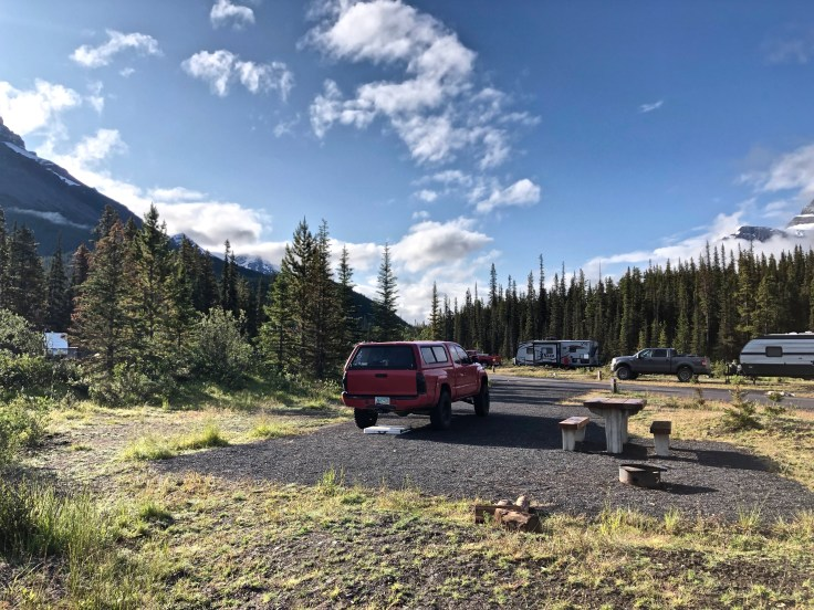 Silverhorn Campground in Banff National Park