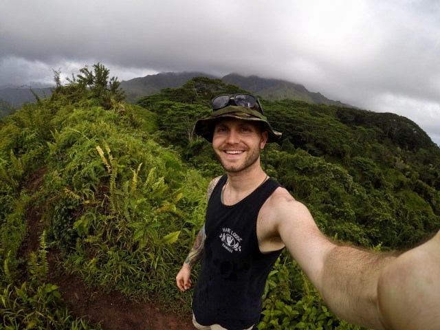 kuilau ridge trail in kauai