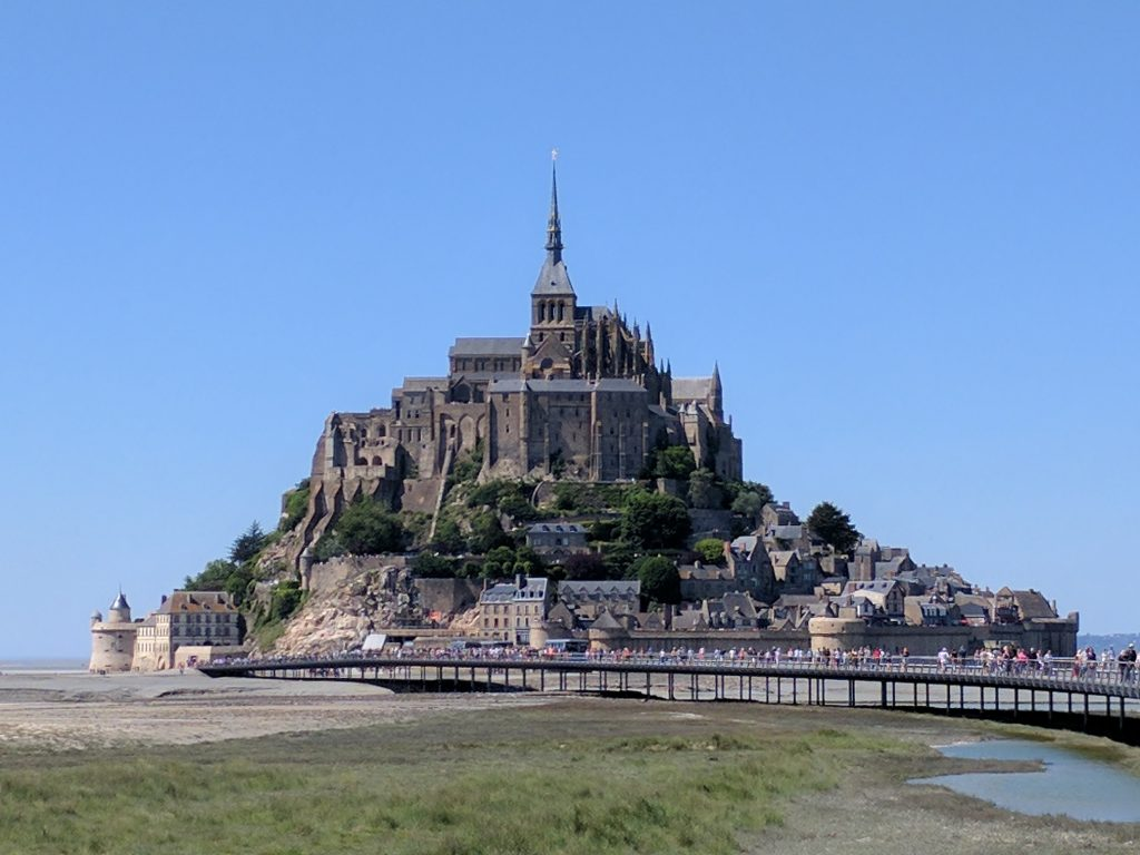 Things to with kids in France - Mont St Michel