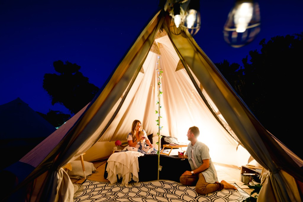 Couple Experiences On Phillip Island - glamping