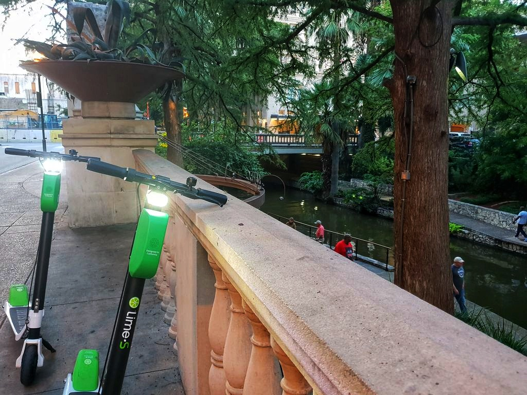 24 Hours In San Antonio: Scooters