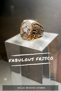 Fabulous Frisco - a short drive from Dallas and the perfect weekend getaway if you love sport - Dallas Cowboys, baseball fields with lazy rivers. Pin this to see more on where you should stay, what you should eat and where you should go in Frisco!