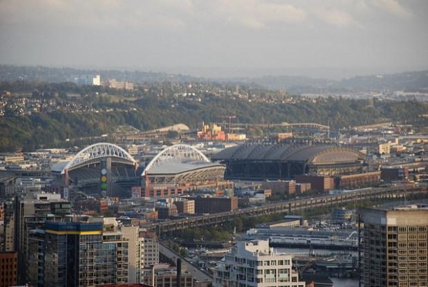 Seattle sports fans in america