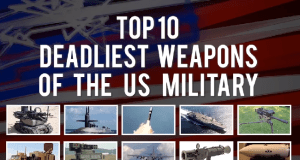 top 10 deadliest weapons of USA