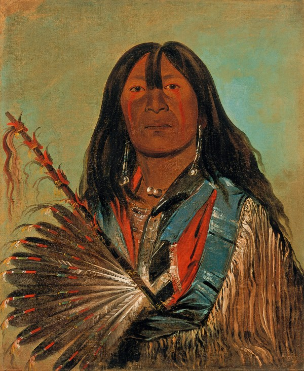 George Catlin Fighting Culture Grasping Fame
