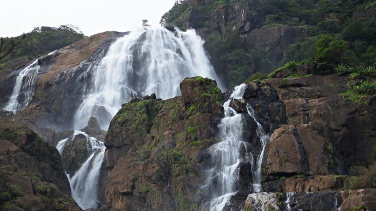 dharamkot wataer fall Treks and Waterfalls of Mcleodganj