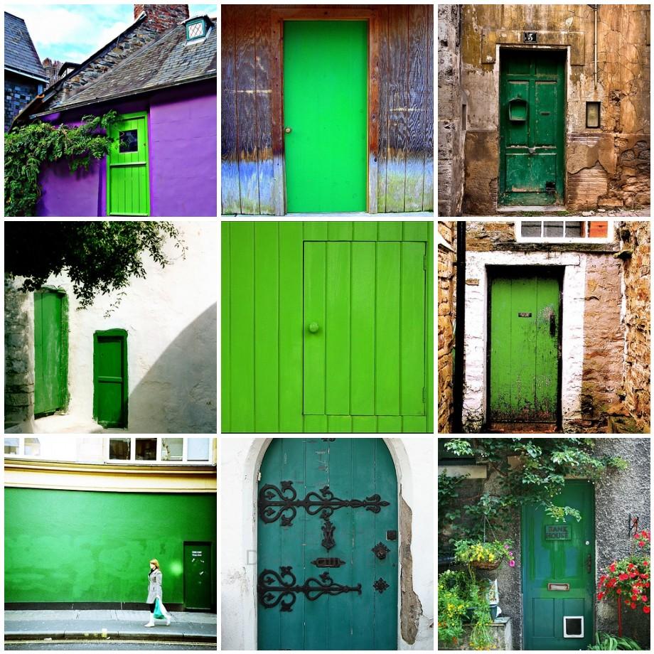 The Green Door  exploring berkeley