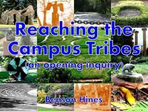Reaching the Campus Tribes - Cover