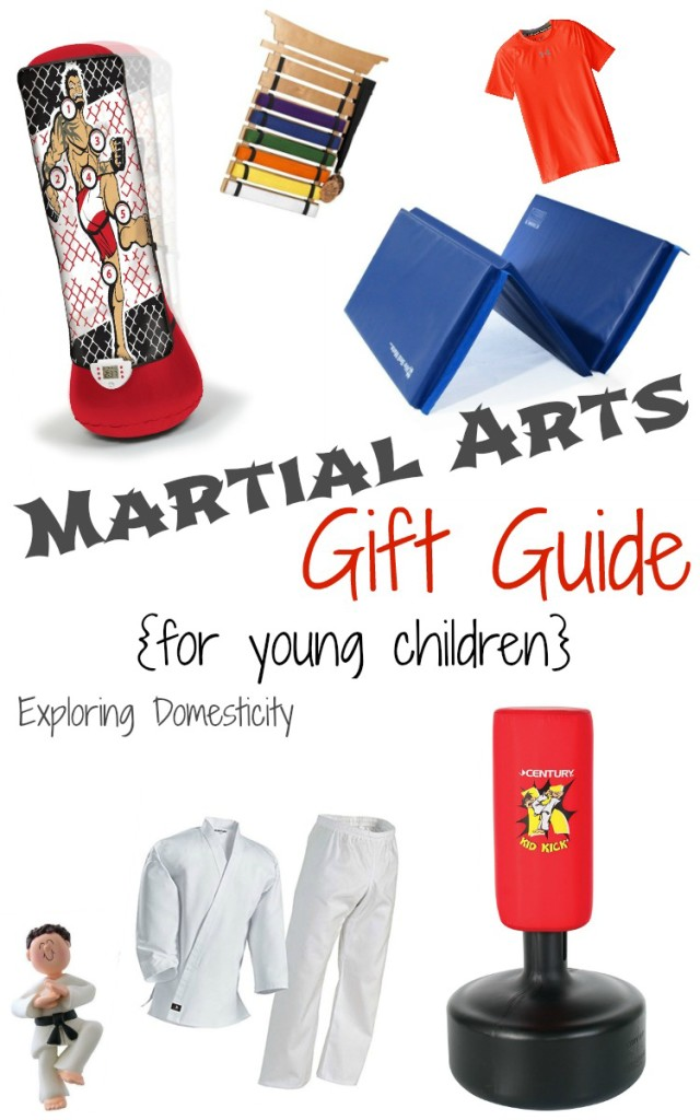 Martial Arts Gift Guide {for Young Children} ⋆ Exploring