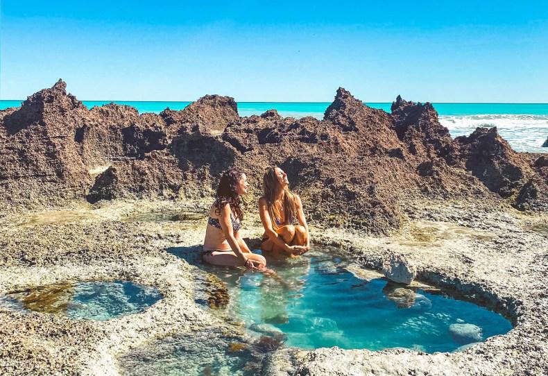 Coconut Well rock pool Broome