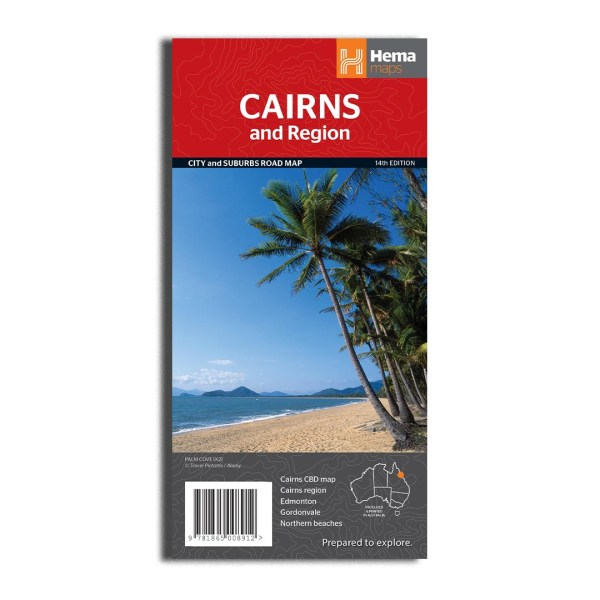 Cairns and region map hema