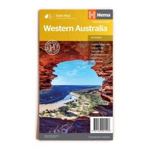 western australia map hema