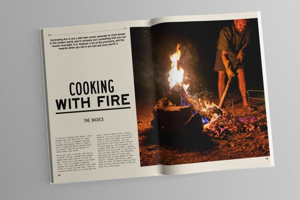 fire to fork cookbook harry fisher