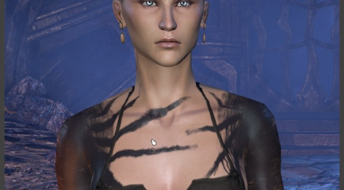 Creating an Imperial Female – Body Markings