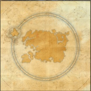 The maps of the Elder Scrolls Online - Mundus