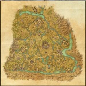 The maps of the Elder Scrolls Online - Shadowfen