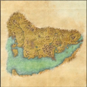 The maps of the Elder Scrolls Online - Stormhaven