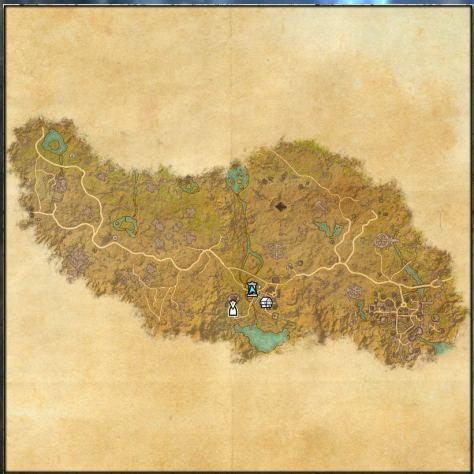 Map of Craglorn