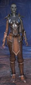 Exploring the Elder Scrolls Online - Female Dark Elf