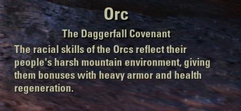 Exploring the Elder Scrolls Online - Orc Description