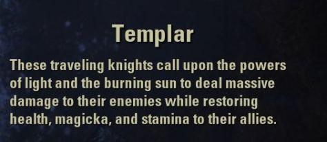 Exploring the Elder Scrolls Online - Class: Templar