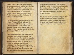 The Books of the Elder Scrolls Online - The Onus of the Oghma, page 2