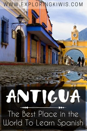 Antigua, Guatemala is the best place in the world to learn Spanish. This beautiful town is the perfect introduction to Central America, filled with coffee shops, beautiful streets and helpful people.