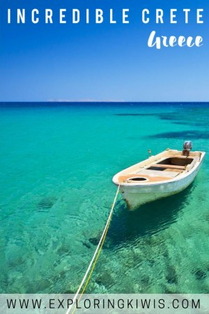 Crete, though less known than Mykonos and Santorini, is a beautiful island in Greece. Relaxed, friendly and authentic, it's definitely worth a visit.