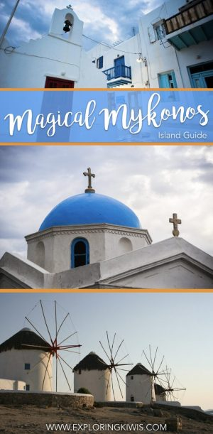 Mykonos, a beautiful island in the Cyclades, Greece, is the perfect destination for your next vacation. This travel guide shares tips on transport, shopping, things to do and more!