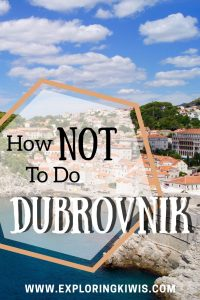 Travelling isn't always easy. Everything that could go wrong in Dubrovnik did - find out how we put it right and learn from our mistakes!