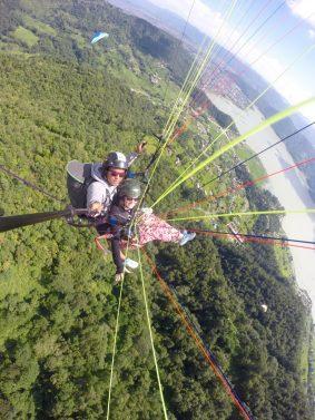 Pokhara Buddha Paragliding