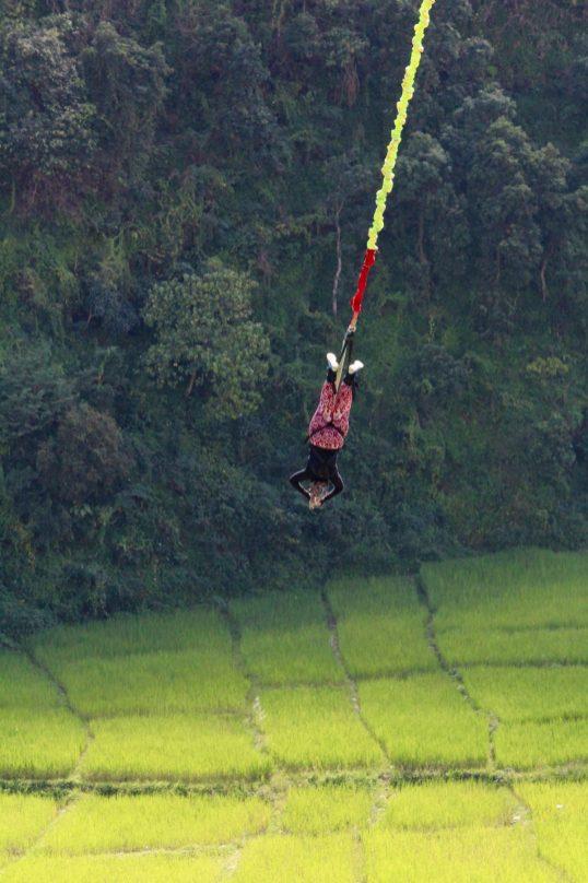 Bungy jumping pokhara bungy nepal