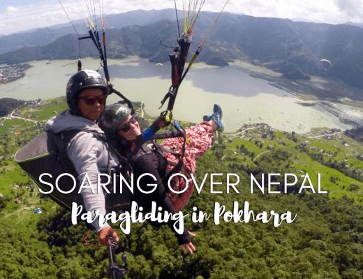 Nepal paragliding buddha review pokhara