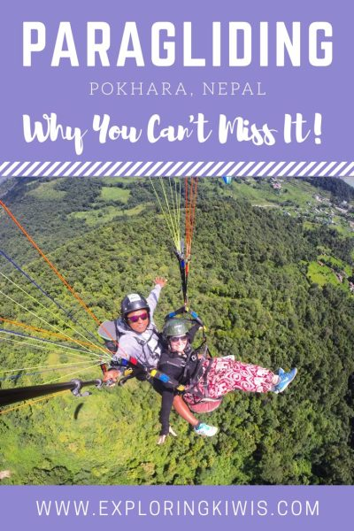 Paragliding Nepal Pokhara