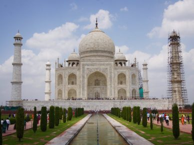 india golden triangle taj