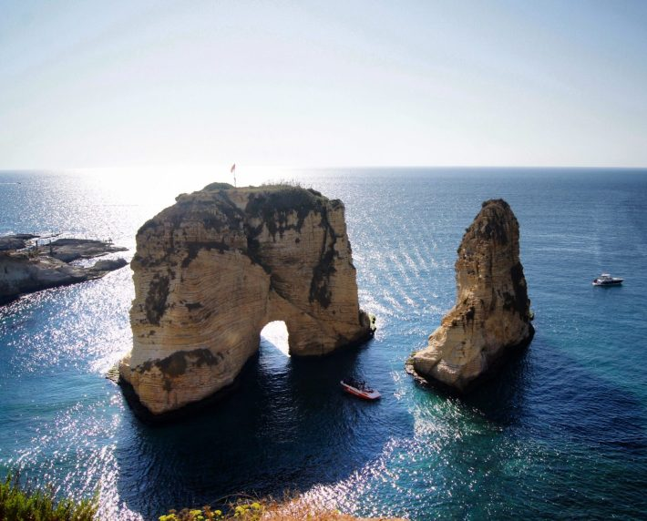 beirut lebanon 48 hour itinerary arch