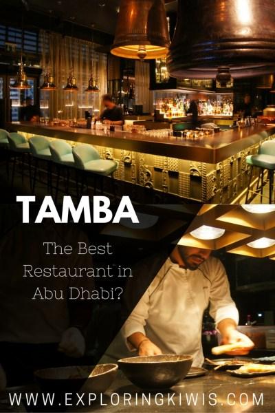 Tamba Abu Dhabi review