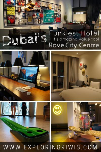 Dubai's Best Value Hotel The Rove City Centre