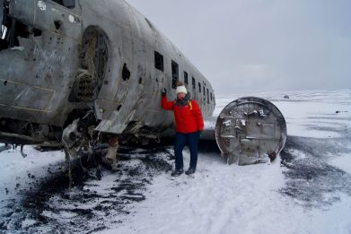 DC3 Iceland Plane Wreckage Sólheimasandur Crash