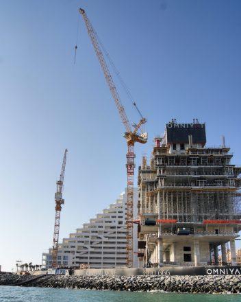 Xclusive Tours Dubai construction cranes