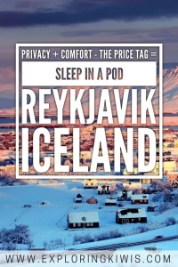 An affordable accommodation option in Reykjavik, Iceland.  Our favourite hostel in the city, offering privacy, comfort and a way to meet others whilst keeping to your budget.