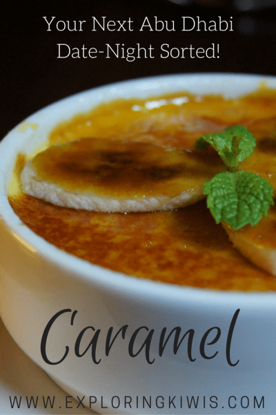 Caramel Review, Abu Dhabi
