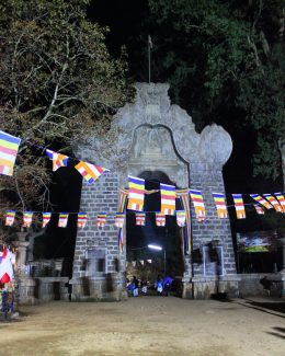 9 day Sri Lanka Itinerary Adam's Peak